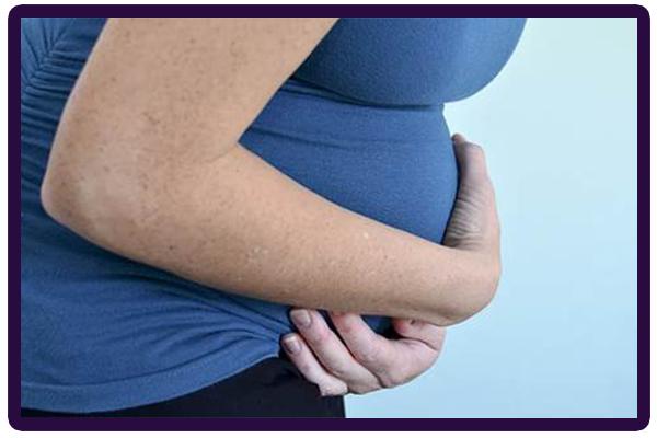 بارداری و درد زیر شکم 2